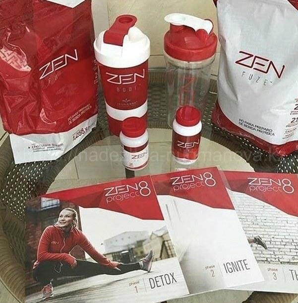 Программа ZEN 8 Project Jeunesse