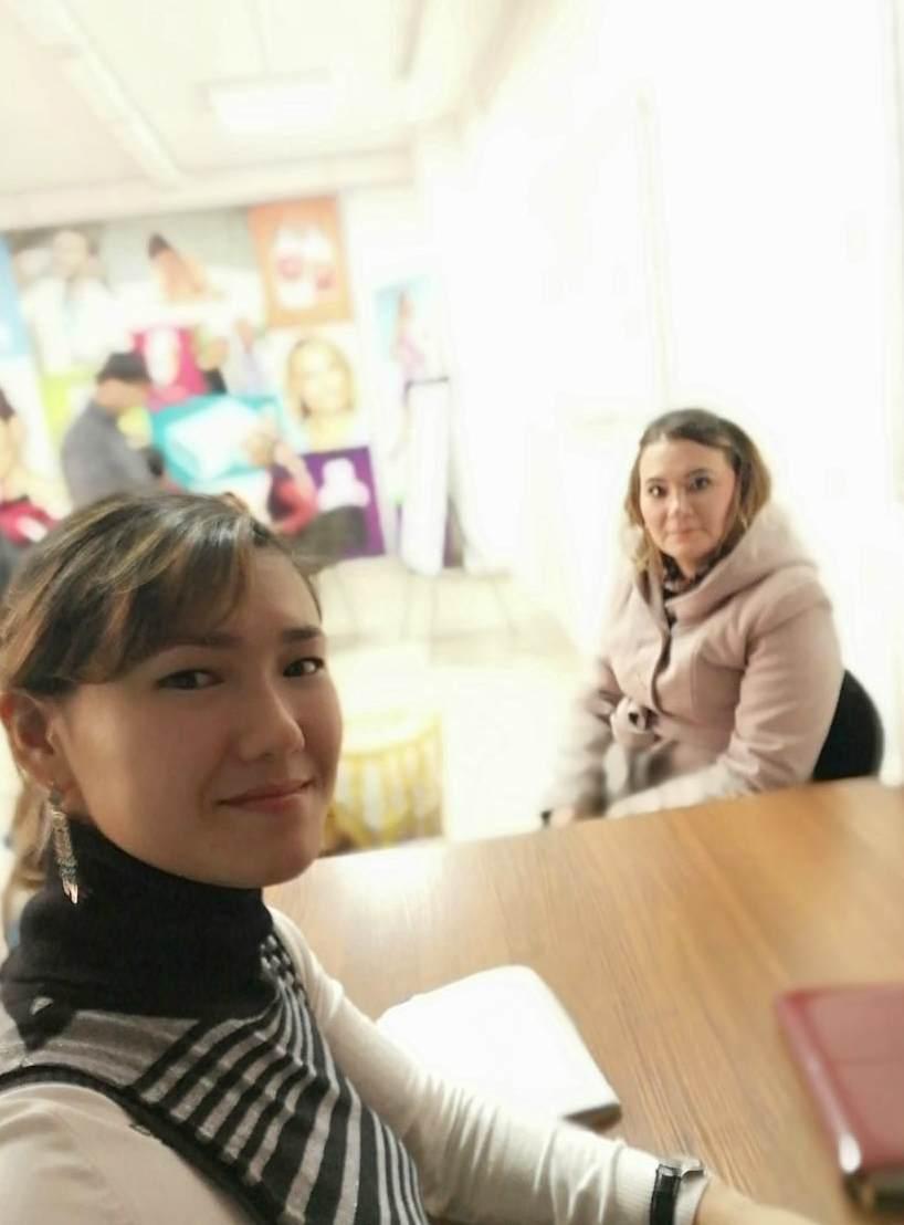 офис жанес в Шымкент