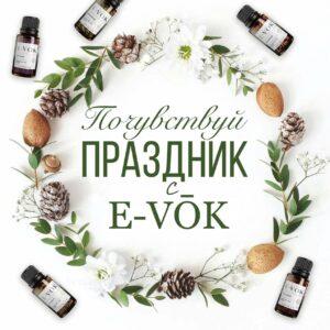 E-VOK - смеси эфирных масел купить в Алматы