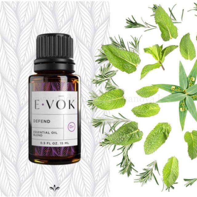 E-VOK - смеси эфирных масел защита для здоровья, укрепление иммунитета
