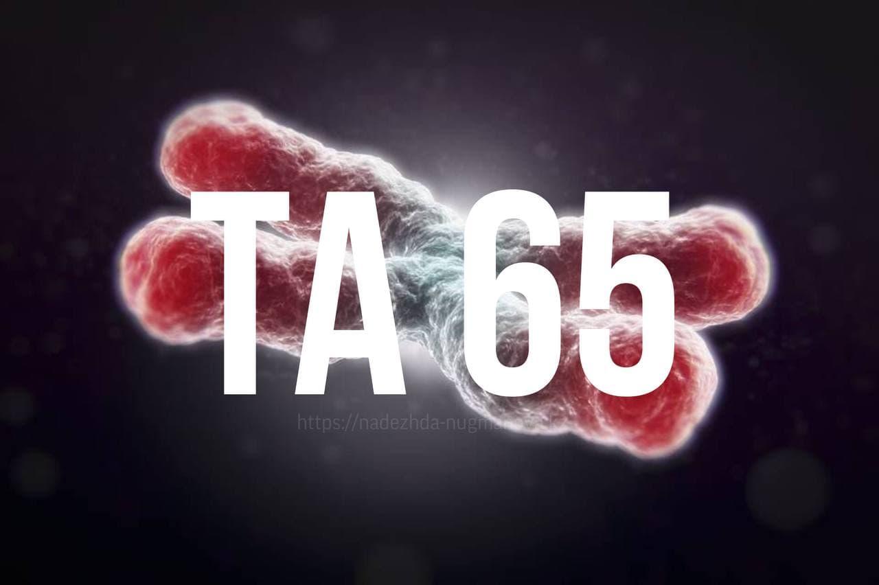 ТА 65 Активатор Теломеразы код продления молодости